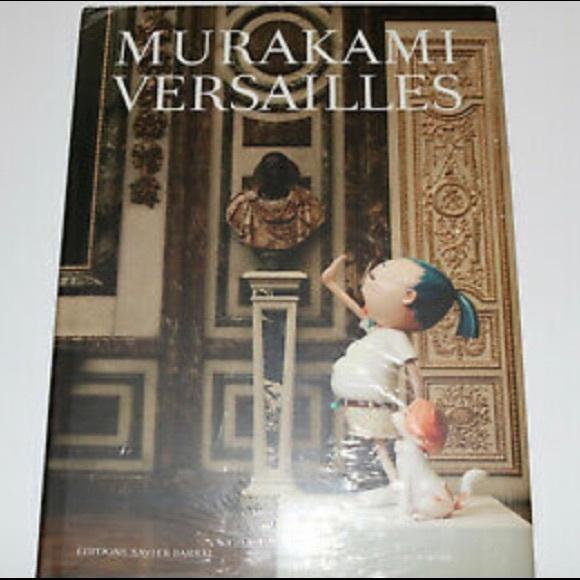 Takashi Murakami Versailles Hardcover Book